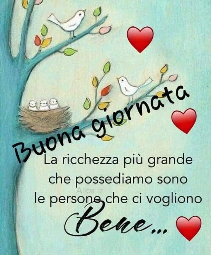 Frasi buona giornata italiane foto for Buongiorno o buon giorno immagini
