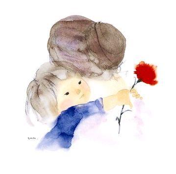 Fotografia Bimbi Si Baciano Abbracci Immagini